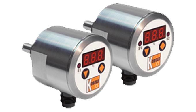 Schaltpunkte: -20 ... +125°C, einstellbar Anschluss: G ½, G ¾ AG, ½