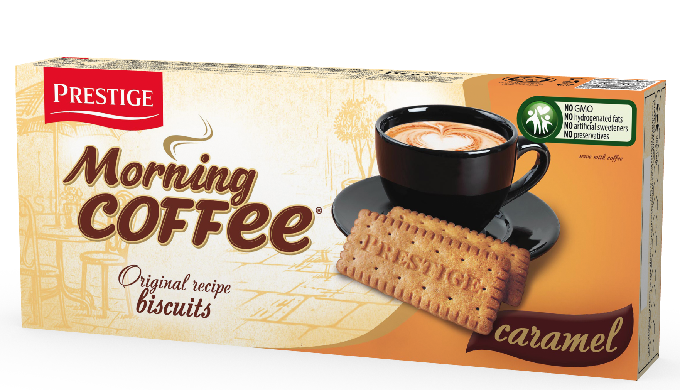 MORNING COFFEE unctd. biscuits Caramel 156g