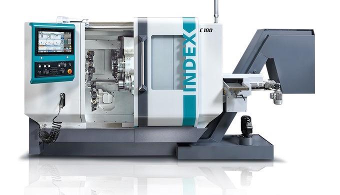 Automatsvarv – för snabbare bearbetning Optimalt för stångbearbetning och komplexa detaljer Maskinhi...