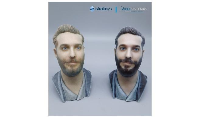 Selfi3D invierte en la nueva impresora 3D J55 de Stratasys para crear modelos 3D ultrarrealistas de personas