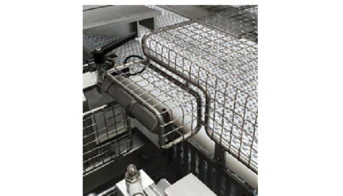 Skæremaskine Simpel skæremaskine til deling af såvel blokoste som runde oste. Maskinen leveres med i...
