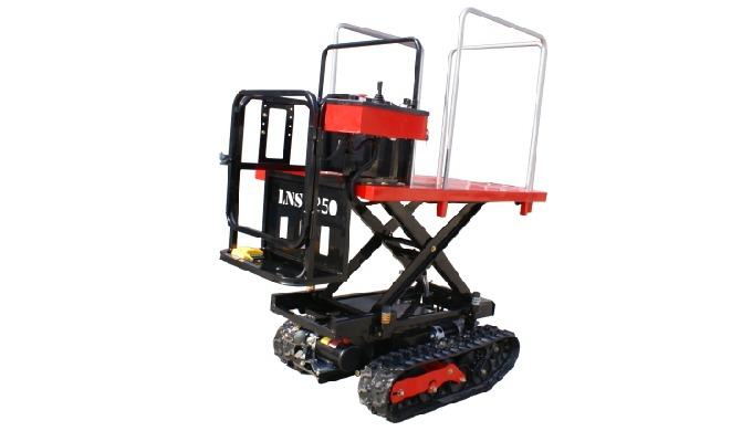 [LNS-J250] EV Plataforma de trabajo aéreo para huerto y granja.