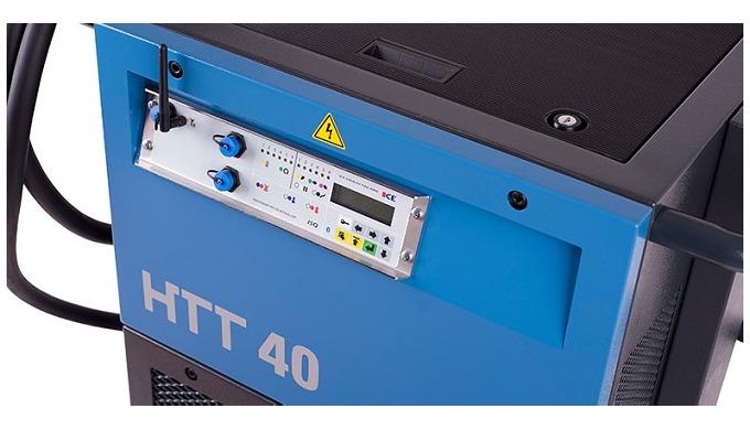 Mobilní žíhací zařízení HTT 40 pro tepelné zpracováni kovů