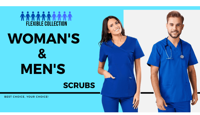 A medical blouse is a practical piece of clothing for every healthcare professional. Women's slim fi...