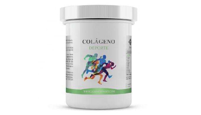 Colágeno deporte es un complemento alimenticio 100% natural cuyo desglose nutricional puede presenta...