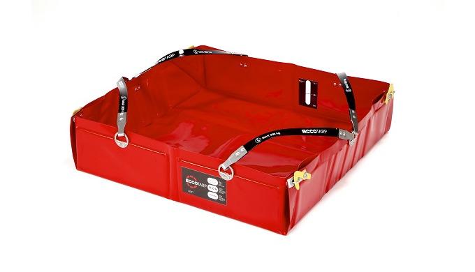 Collapsible spill bund ECCOTARP ET This collapsible spill bund ECCOTARP ET is designed for a quick r...