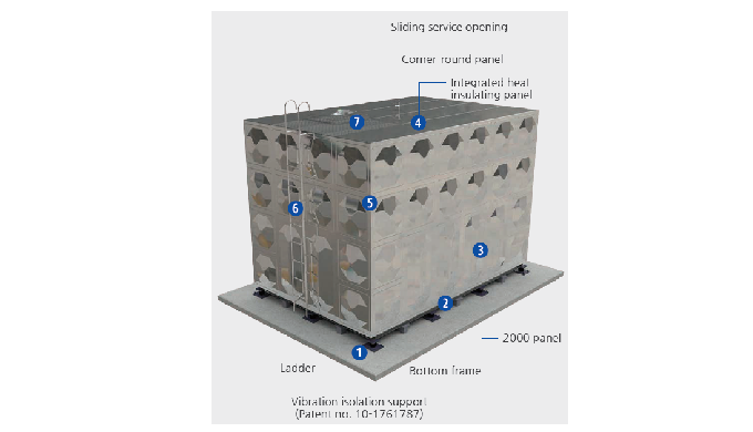 STS Water Storage Panel Tank