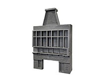 Cast iron castings for industrial furnaces