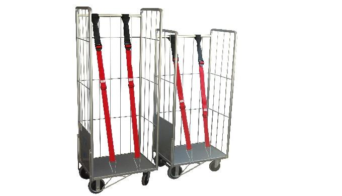 CHARIOT ROLL CABRI STANDARD Utilisation: Pour livrer votre linge à plat ou sur cintre. Description: ...