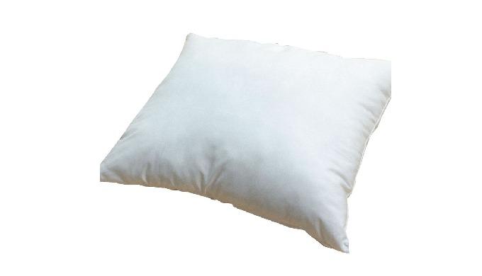 Características: Almofada de capa simples; Capa exterior em poliéster; Lavável a 40º; Núcleo de fibr...