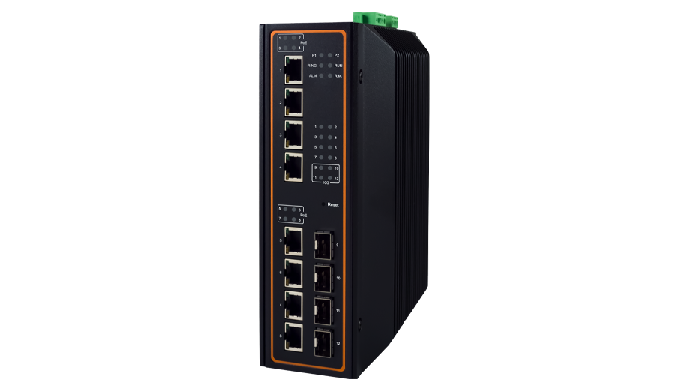 EHG7512 Series / Industrial Ethernet Switch / Industrial Managed Switch