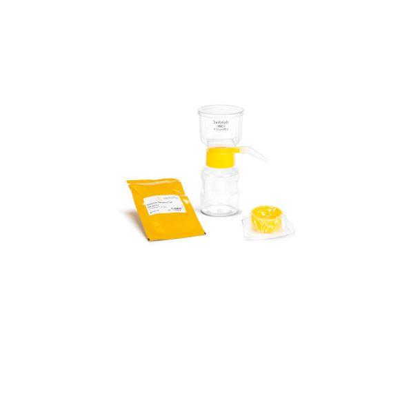 Sartoclear Dynamics® Lab V, 150 ml, 5 g est l'un des kits de filtration Sartoclear Dynamics® Lab. Sa...