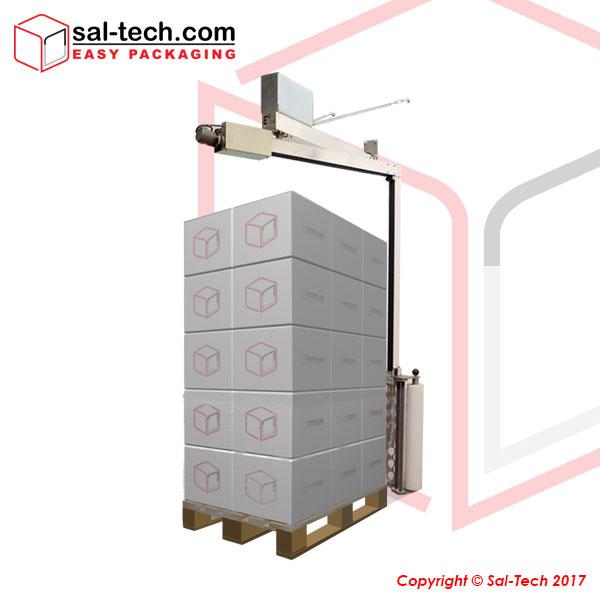 E3 WRAP 2100 er en allround halvautomatisk palleomvikler, der sikrer kvalitet og mængde af emballage...