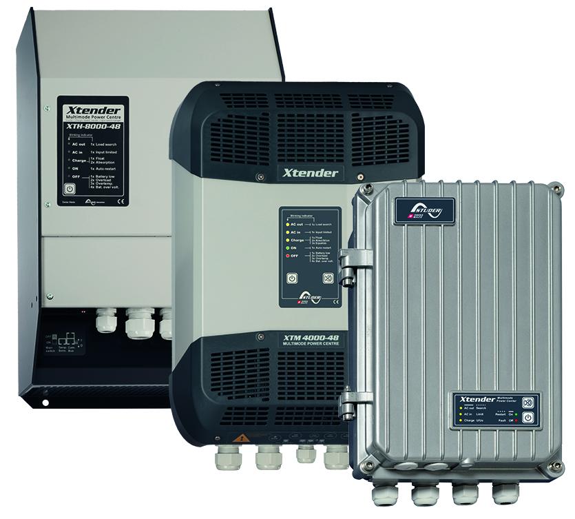 Wechselrichter / Batterielader: Xtender Reihe
