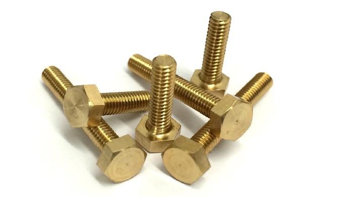 Brass Hex Bolt
