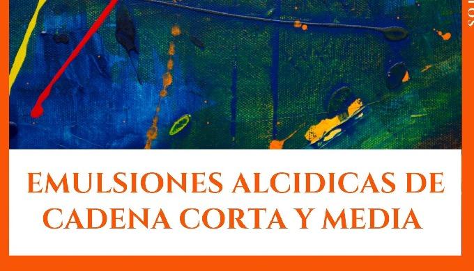 RESINAS ALCIDICAS DE CADENA CORTA Y MEDIA