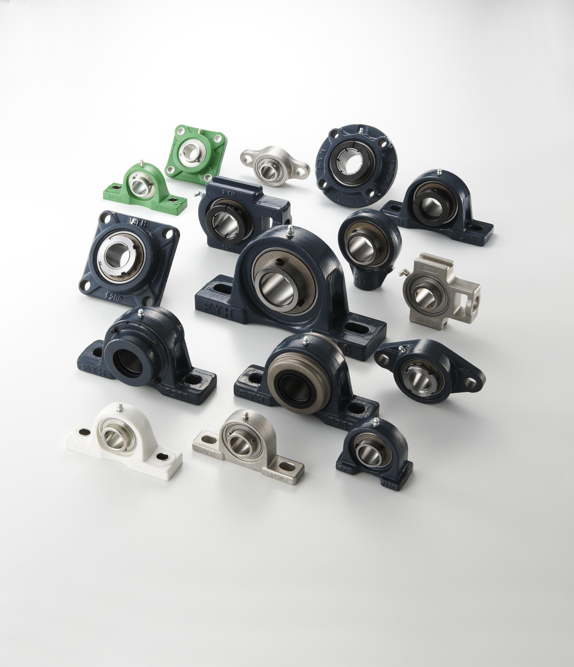Nos Différentes gammes de paliers : Les paliers AUTO- ALIGNEURS FONTE.Série 200,300 médium X, UK. Eg...