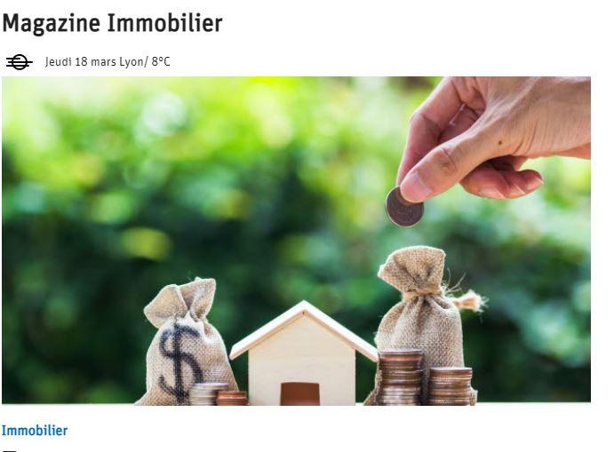 LE PROGRES, offre publicitaire Immobilier