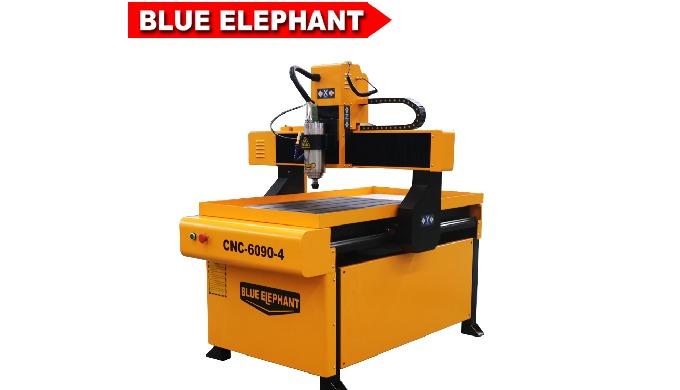 Синий слон с ЧПУ мини металла гравировальный фрезерный станок с ЧПУ 6090 на продажу