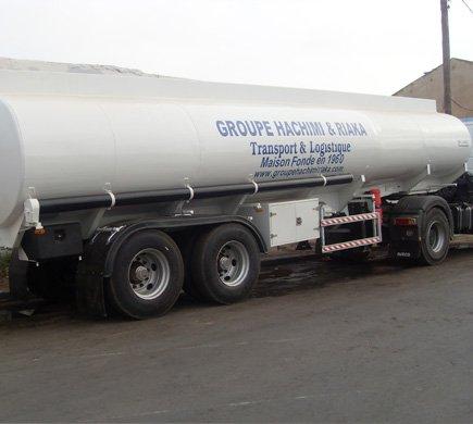 Distribution de carburants