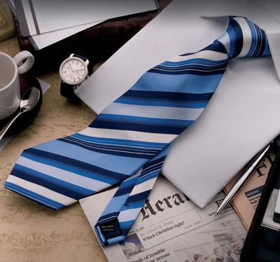 Gewebte Seiden Krawatten