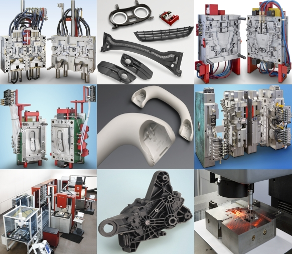 manufacturing of high precision moulds, and plastics injection
