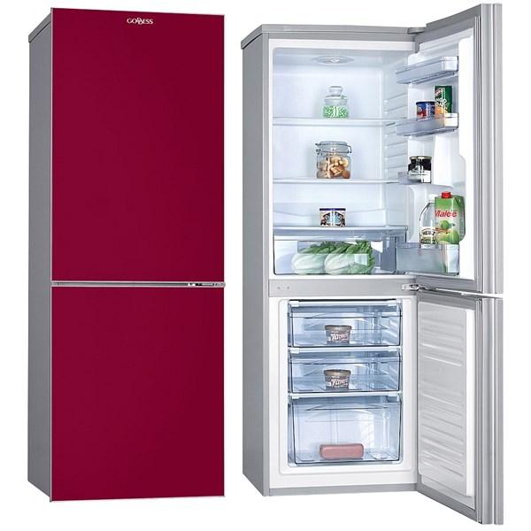 Designová kombinovaná chladnička o celkovém objemu 190 l pracuje v úsporné třídě A++. Zaujme na prvn...
