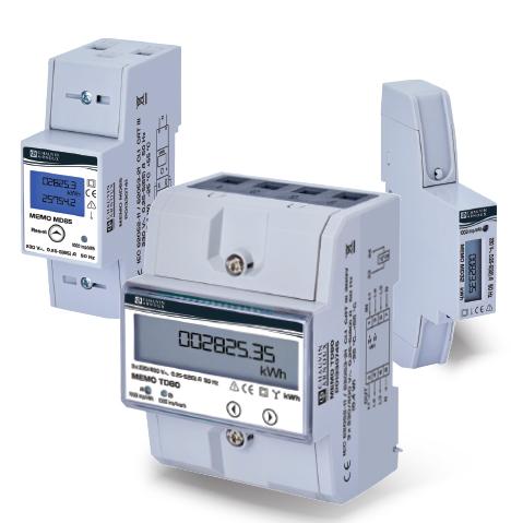 Compteurs d'énergie pour réseaux monophasés ou triphasés à entrée directe jusqu'à 80 A.Une solution ...