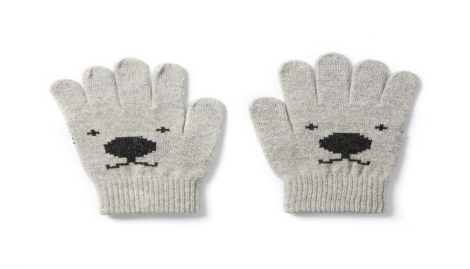 touch gloves (bear) | style gloves