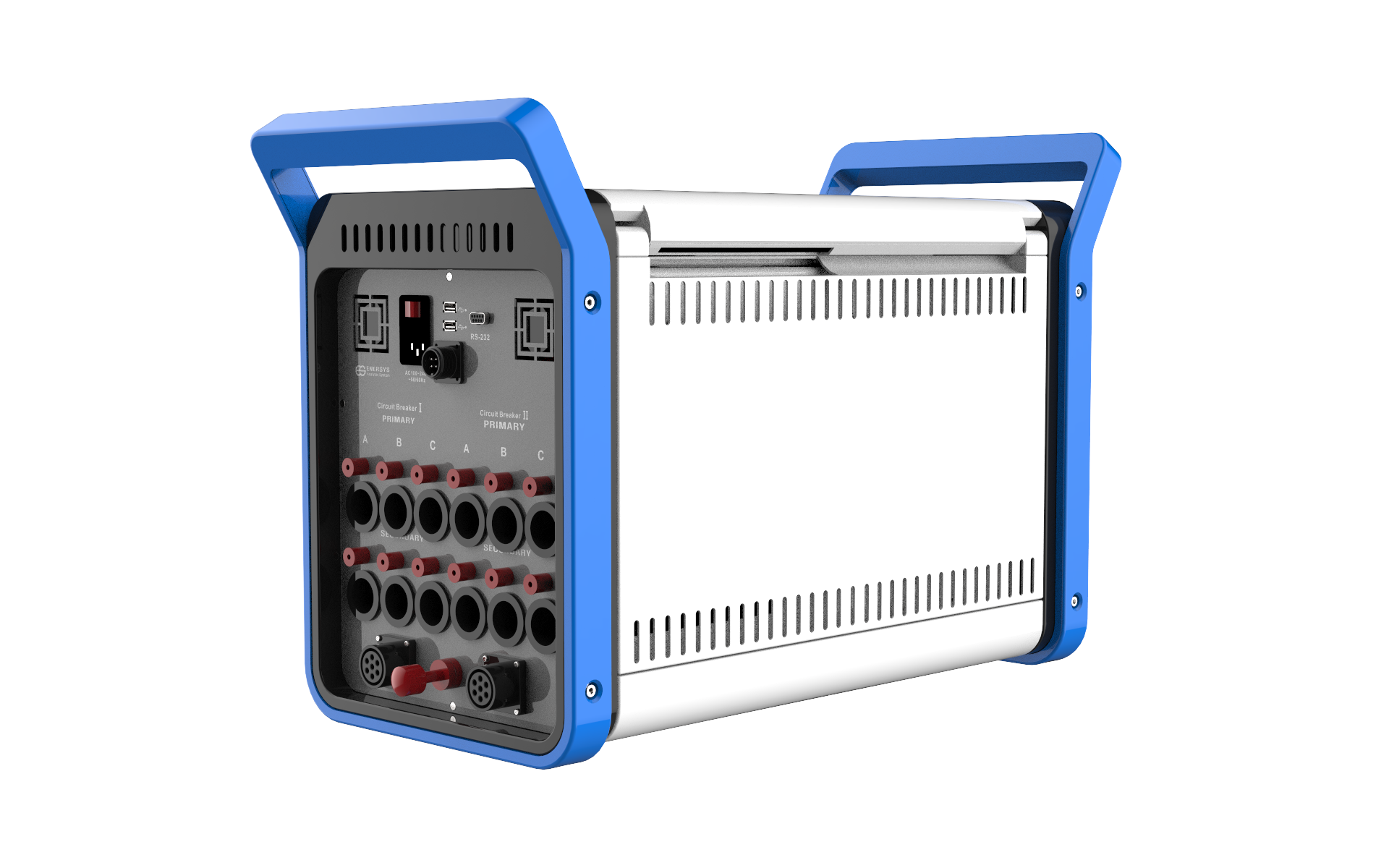 Portable circuit breaker testing equipment (Model : CBS-100) can conduct the all electrical tests au...