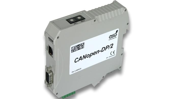 CANopen®/PROFIBUS-DP®-Slave Gateway(CANopen-DP/2)