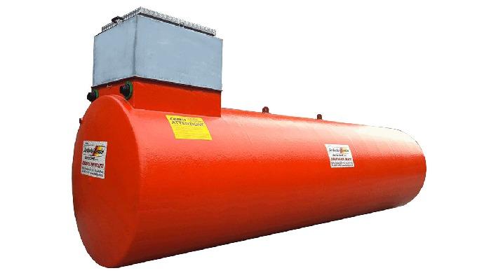 Pellet Storage Tank