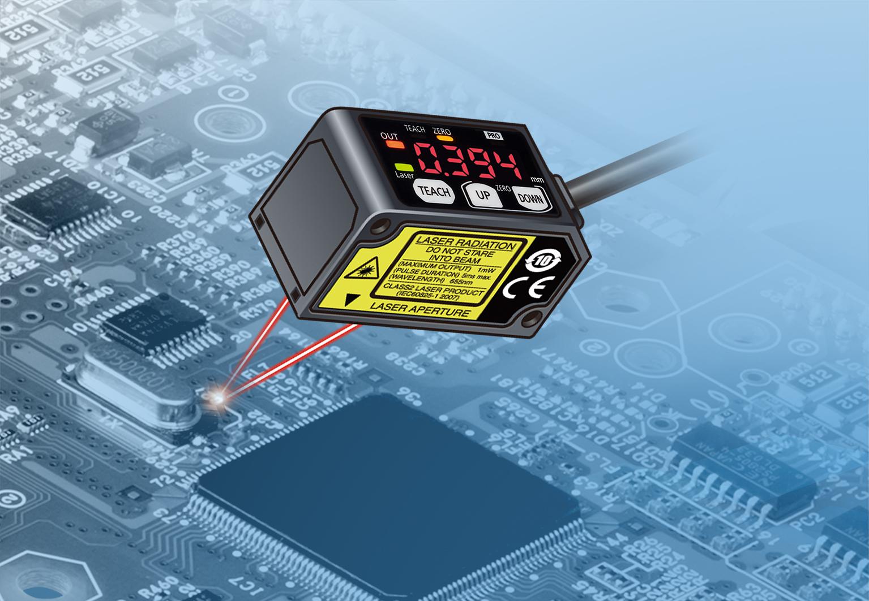 Měřicí senzor s přesností 10 µm za špičkovou cenu