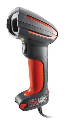 Le lecteur industriel Granit™ 1980i intègre une technologie d'imagerie matricielle longue portée per...