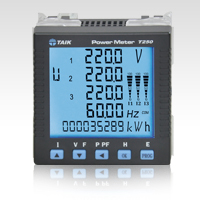 One unit for measurement of the main electrical parameters including voltage, current, active power,...