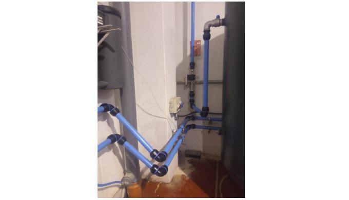 Instalaciones de aire, nitrógeno y vacío