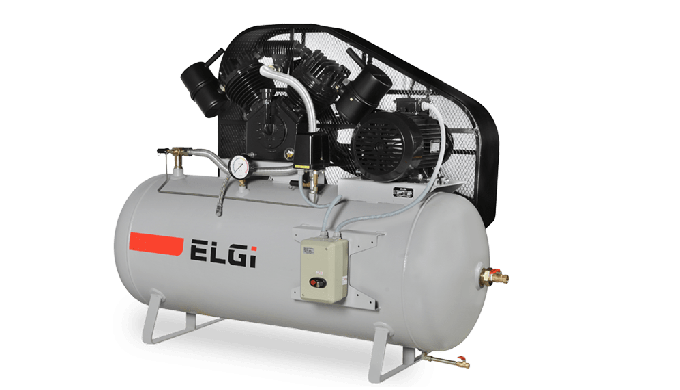 INDUSTRIAL, CAST IRON PISTON COMPRESSORS 3-40 HP 3-40 HP SINGLE & TWO STAGE INDUSTRIAL RECIPROCATING COMPRESSOR