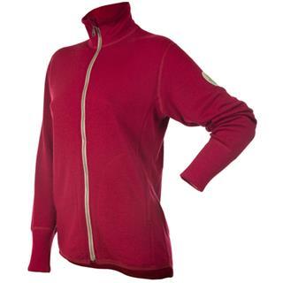 Janus Designwool jakke er laget av fineste kløfri merinoull ullfrotté. Finnes i rød, blå og natur. J...