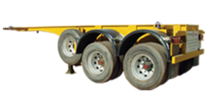 Véhicules conçus pour le transport de conteneur ISO de 20''.La norme ISO fixe la masse brute maximal...