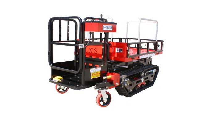 [LNS-J500] EV Aerial work Platform for orchard and farm.