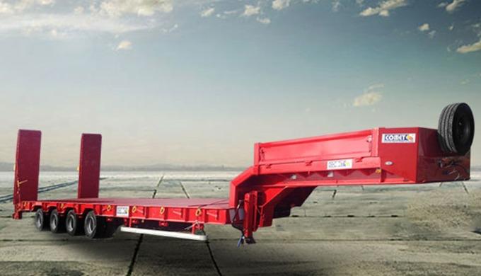 La semi-remorque porte-engins à 4 essieux COMET est consacrée au transport de différents types de ma...