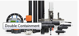 Two fully sealed containment zones ensure safety of environment and process.