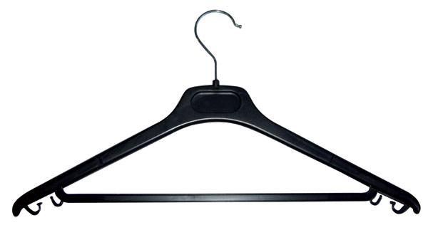 Pour stocker les vêtements de visiteurs à l'accueil ou pour un événementPlastique noirBarre largeur ...