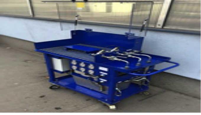 Zkušební testovací stolice průmyslové – výroba