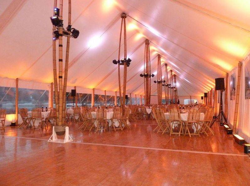 TOUAREG Rouen en Normandie, vous propose la location de chapiteau écolo en bambou pour réception de ...