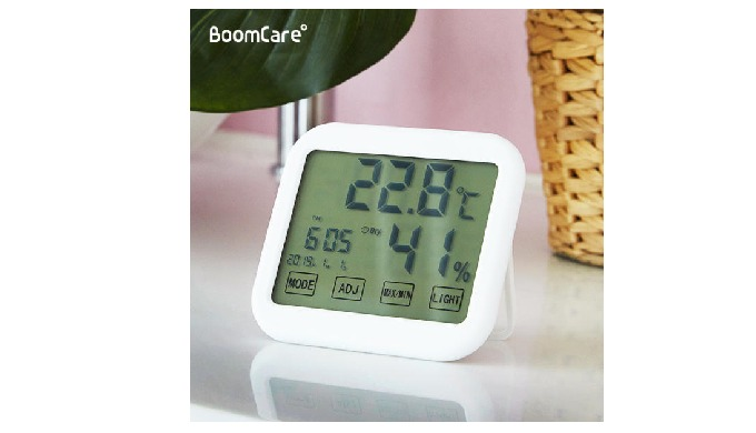 ISPROBE BoomCare Digital Thermo-hygrometer for Baby BC-21