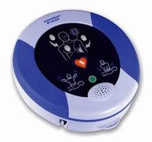 Défibrillateur semi automatique HeartSine Samaritan PAD 350P à énergie ascendante (150/200 j), marqu...