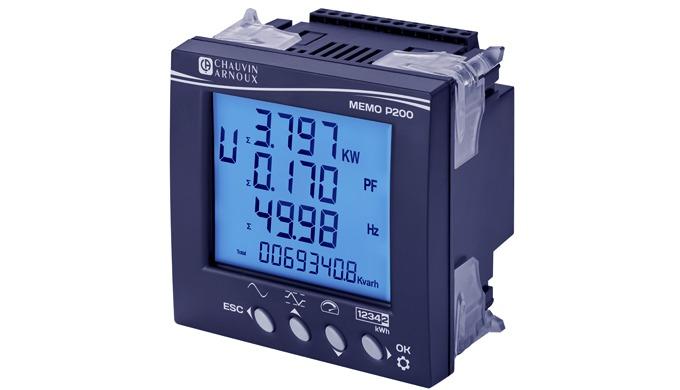 La centrale de mesure MEMO P200 est la centrale de mesure simple et performante de Chauvin Arnoux En...