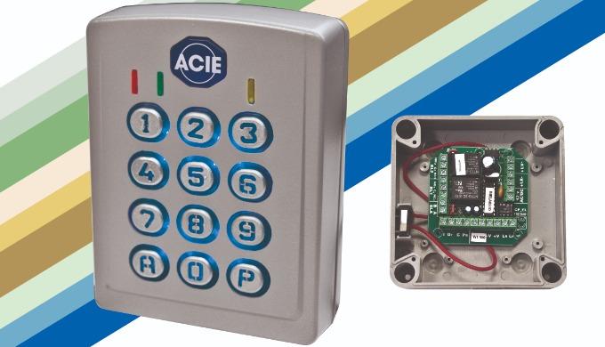 CL-RF, CL-RF-WDT: Teclado / Lector RF-SMART manos libres para control de acceso