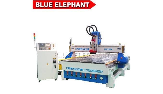 ELE1530 alta router carpintaria automática cnc com moldura forte